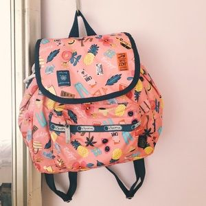 LeSportsac x Rifle Paper Co. mini backpack